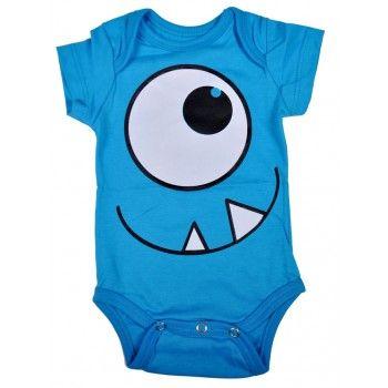 body bebê divertido monstrinho em suedine nuvem baby & kids. Moda bebê, Moda Infantil, Roupas de Bebê, roupas Infantis, Fashion Baby, Fashion Kids, bebê roupas, roupas de bebê. www.boobebe.com.br