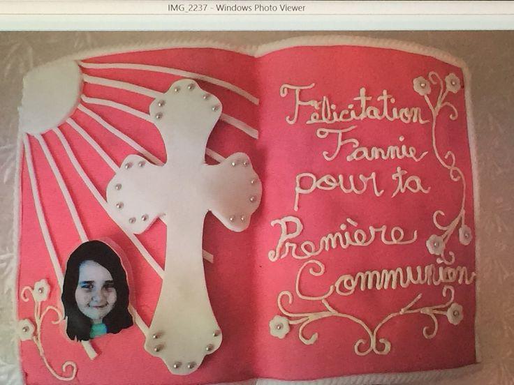 First Communion Cake #4