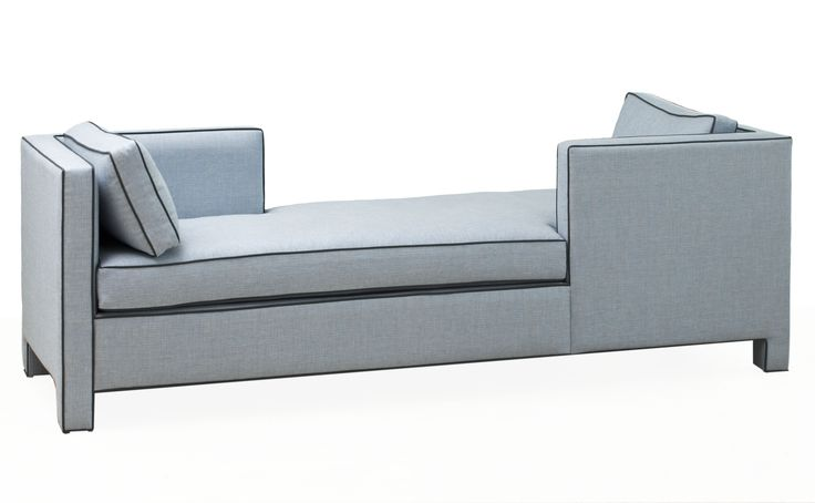 Buy Tete A Tete by PROFILES - Made-to-Order designer Furniture from Dering Hall's collection of Contemporary Transitional Daybeds.