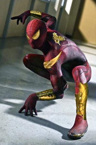 The Iron Spider-Man suit. My favorite Spiderman costume.