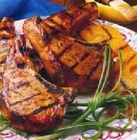 crock pot glazed pork chops