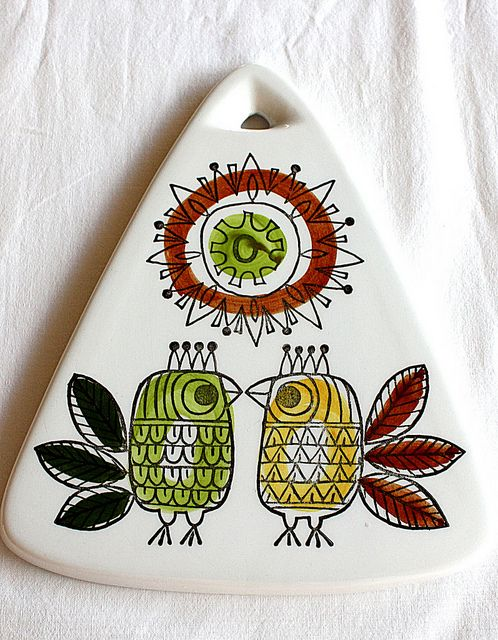 Quickplate Rörstrand King Design: Marianne Westman Love the simplicity of the birds!