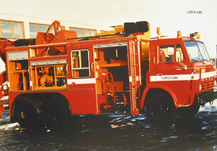 Kiitokori Oy, 1990-2000 #paloautot #kiitokori #firetruck