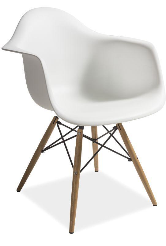 Krzesło MONDI insp. EAMES, białe