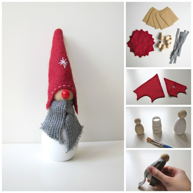 Tomte Time!  DIY Tomte Kit