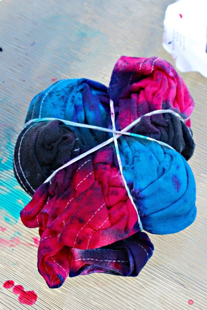 Easy Tie Dye Tips And Step By Step Instructions: Stuff For The Kiddos