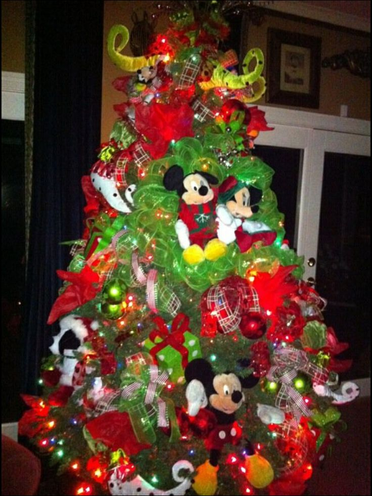 Going to Disney christmas tree - design by: Inspired Interiors by Brenda Tuschl