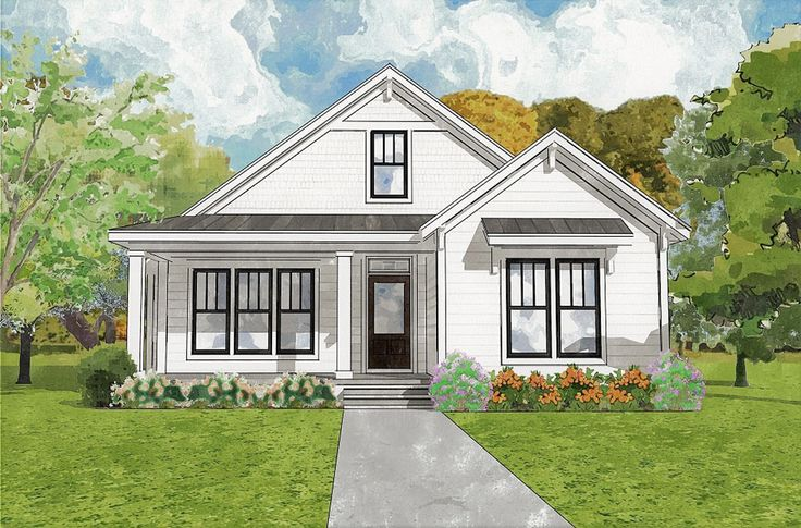 Birch Street - Coastal Home Plans