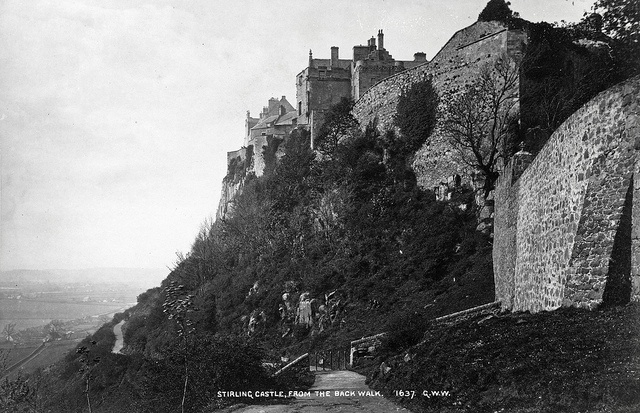 George Washington Wilson - Stirling Castle, From the Back Wall ca 1890