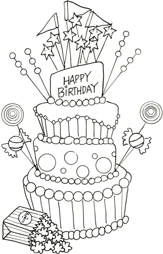 Are You Looking For Inspiration For Happy Birthday Friendship Navigate Here For Unique Happy Birthday Geburtstag Malvorlagen Wenn Du Mal Buch Geburtstagsfeier
