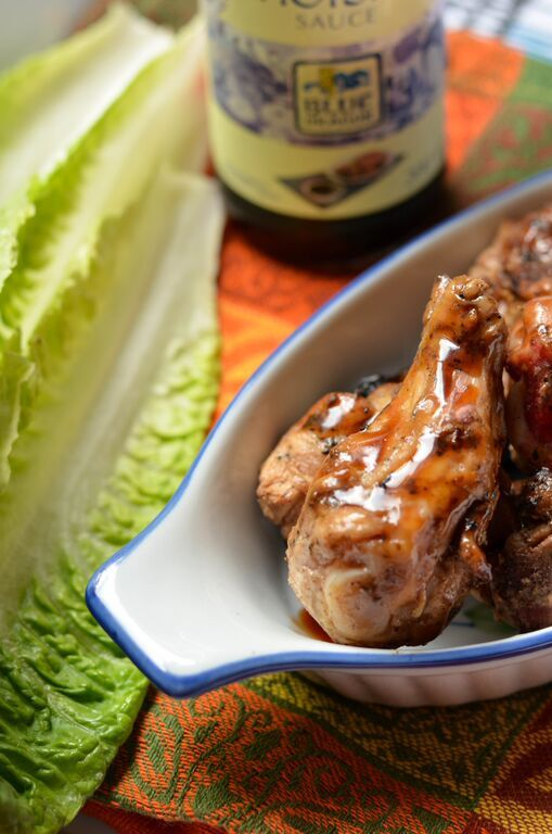 BBQ Chicken Wings with Hoisin Sauce