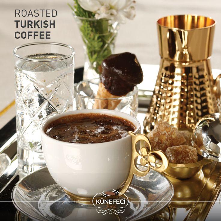 The Coffee of Friendship and Converse: 'Roasted Turkish Coffee' by KÜNEFECİ  #lunch #afternoon #meeting #coffee #cafe #kahve #Turkish #SaudiArabia #Bahrain #Turkey #kunefe #kanafeh #Künefeci #traditional #instafamous #tagsforlikes #photooftheday #wednesday #pinterest