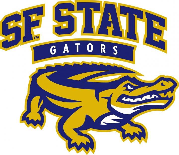 San Francisco State University Gators, NCAA Division II/California Collegiate Athletic Association, San Francisco, California