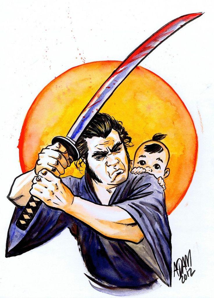 17 best images about shogun assassin lobo solit rio e for Assassin tattoo houston