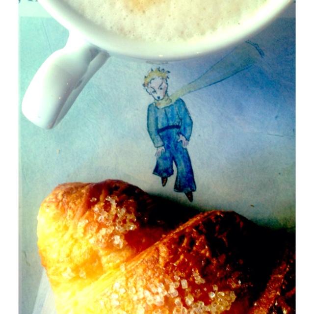 Petit dejeuner avec le petit prince <3