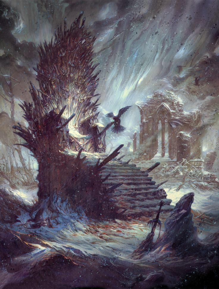 Trono de Ferro - As Crônicas de Gelo e Fogo