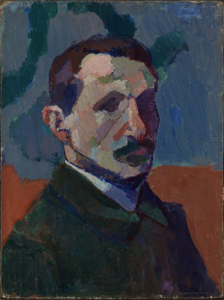 Matisse, Henri Title Maleren Albert Marquet Creation date Ca. 1905 Materials and techniques Olje på treplate