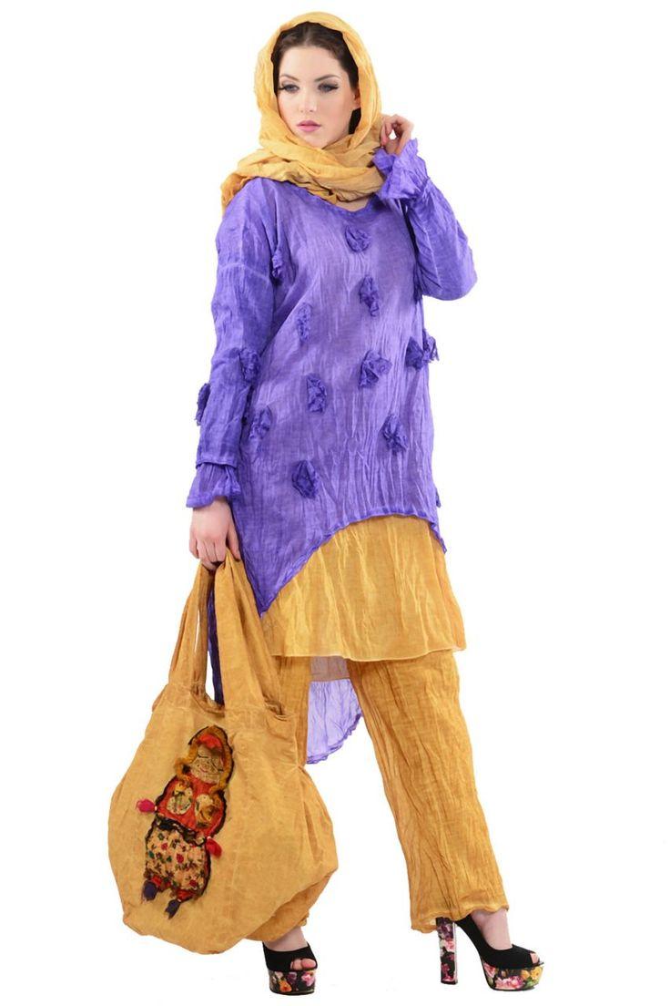 Otantik Sıla Kombin Modelleri - Bayan Giyim