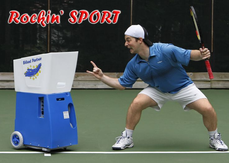 The sport has all the features of the Lite with the added perks of a delayed start of ball feed to allow the player to get to the other side of the court without wasting balls. Also, the heavy duty battery allows for up to 6hrs of play!