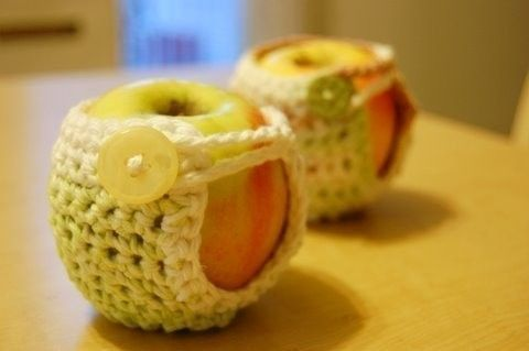 Apple Cozies I have madeCrochet Pattern