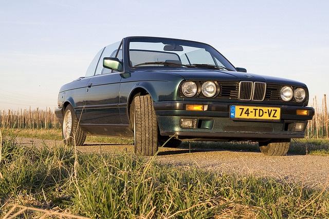 BMW E30 320i Cabrio voor | Flickr - Photo Sharing!