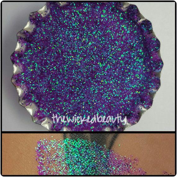 Mermaid Scales     Glitter Eyeshadow by TheWickedBeauty on Etsy