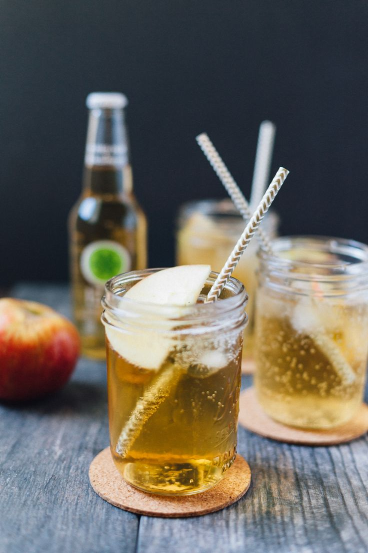 Apple Ginger Whisky | Alyssa & Carla (Easy to make non-alcoholic!)