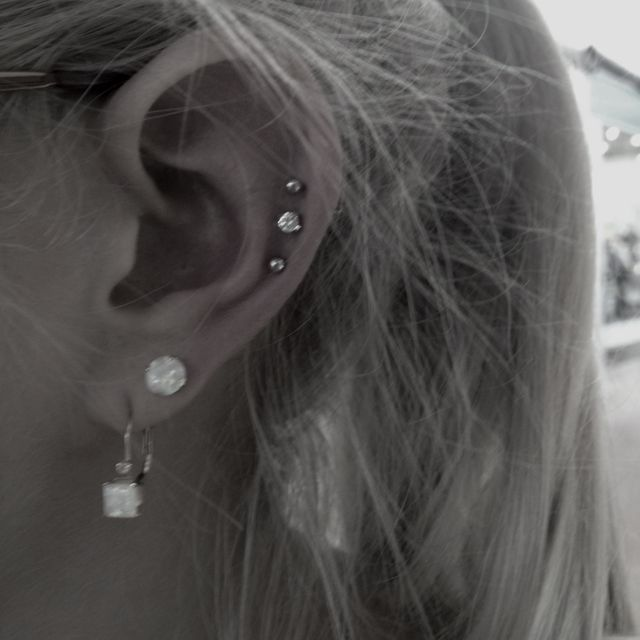 Dreaming of this...with triple cartilage a bit higher                                                                                                                                                                                 More