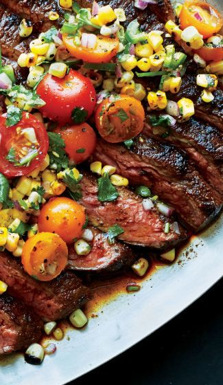 Flank steak is tender, juicy, and a cost-effective dinner option. Get the recipe here.