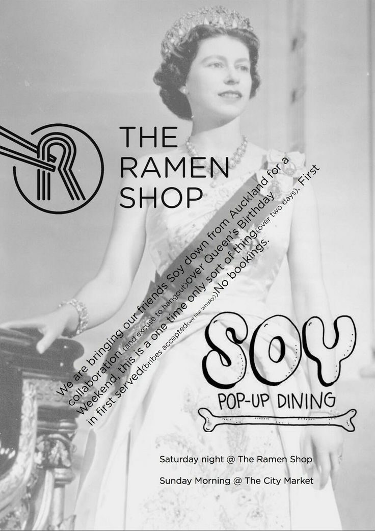 A collaboration with @the_ramen_shop & @Soy_Popup in market kitchen Sunday!