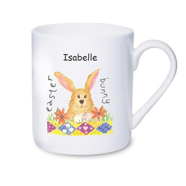 Personalised Easter Bunny Mug - The Hut Market - Personalised Gift Shop