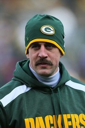 A Tribute to Aaron Rodgers, King of Movember via Buzzfeed
