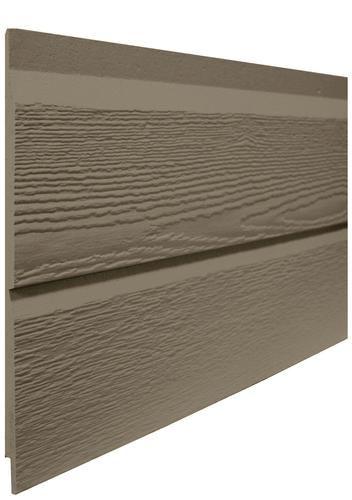"LP SmartSide 1/2"" x 16"" x 16' Prefinished Engineered Wood Double 8"" Dutch Lap Siding 15 Yr Paint Warranty at Menards"