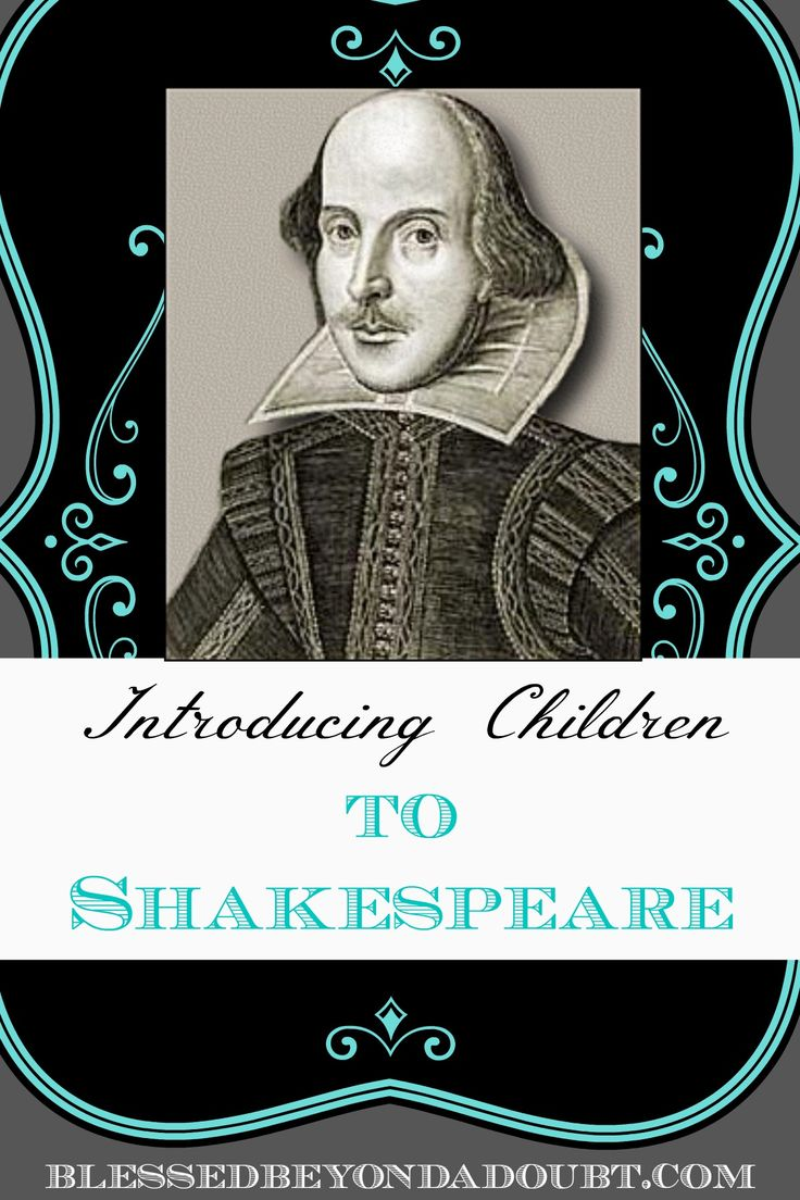 When I discovered this obscure holiday, I just had to take advantage of it and compile a list of Shakespearean themed resources that are great for introducing children to his works. #homeschool