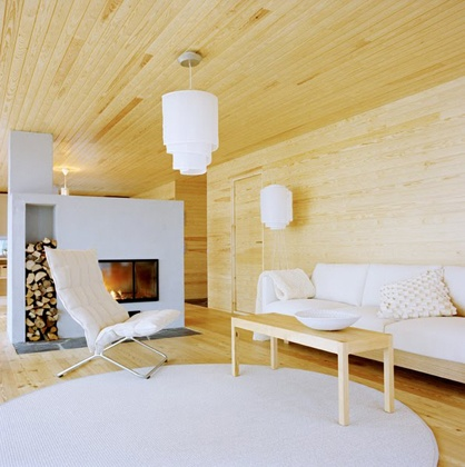 nordic: Colors Combos, Storage Area, New House, Clean Design, Living Rooms, Living Spaces, Wood Storage, Contemporary Fireplaces, Wood Wall
