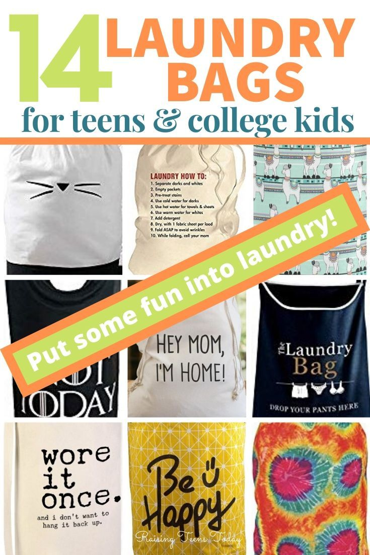 14 Fun Laundry Bags For Teens And College Students In 2020