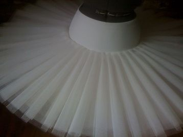 The only reason I'm pinning this is because I'm amazed at how straight and unwrinkled they've gotten this tutu. I've never had one that looked like this.