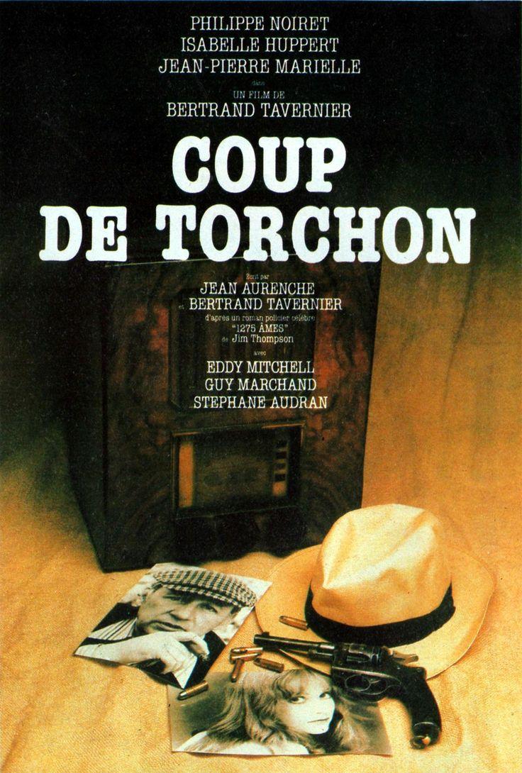 """411. """"Coup de torchon"""" de Bertrand Tavernier avec Philippe Noiret, Jean Pierre Marielle, Jacques Dutronc et Isabelle Huppert, 1981). A été tourné au Sénégal au moment où j'y vivais."""