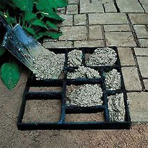 DIY-Grid-Driveway-Paving-Brick-Patio-Concrete-Slabs-Path-Garden-Walk-Maker-Mould