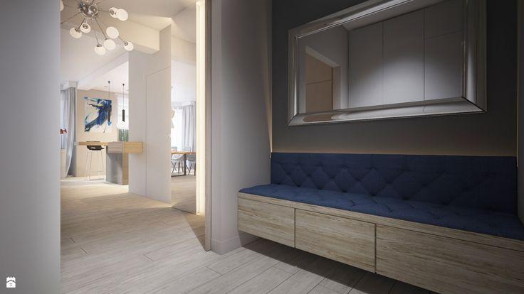 pikowana ławka w holu - zdjęcie od Finchstudio Architektura Wnętrz - Hol / Przedpokój - Styl Nowoczesny - Finchstudio Architektura Wnętrz