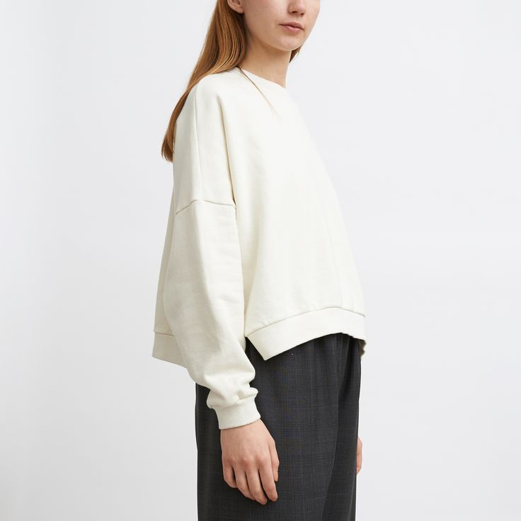 Kloke Match Sweater - Chalk