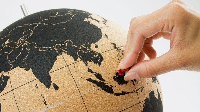 Vinn en Globus i kork! Besøk bloggen og legg igjen en kommentar med hvilke destinasjon du vil markere først! www.ticket.no/blogg