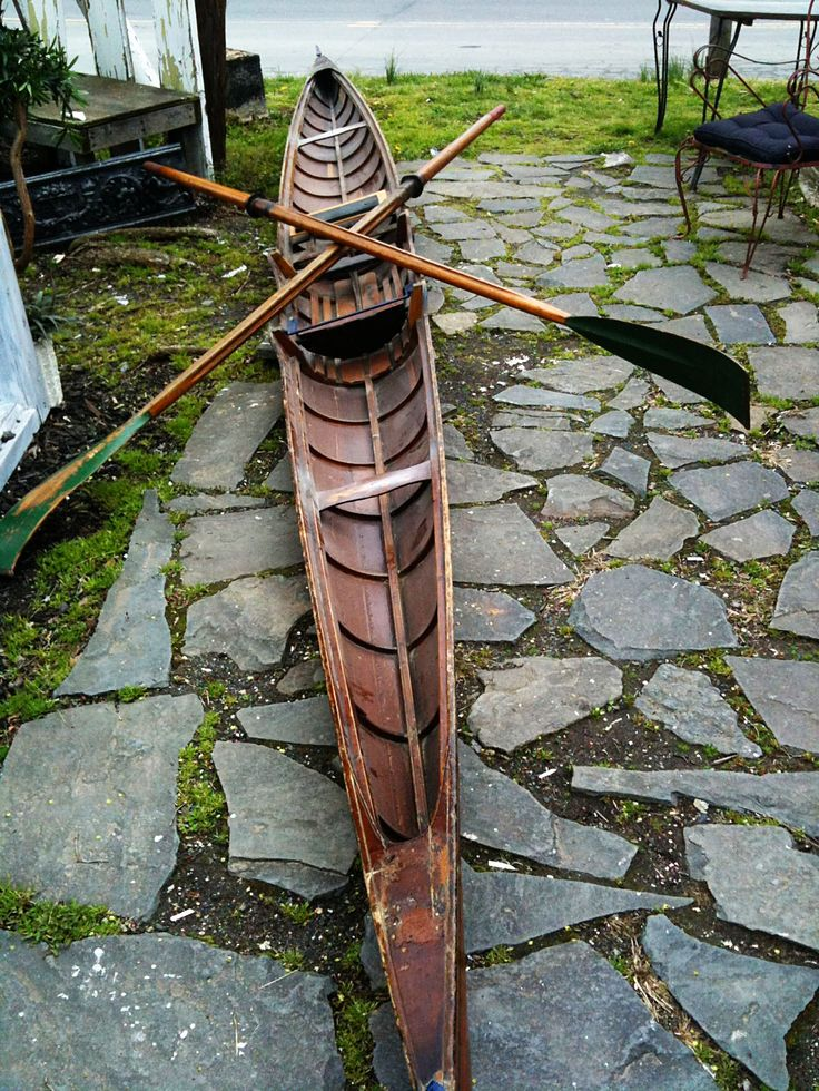 Sculling boat from 1800's - CNS