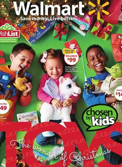 Walmart USA juguetes 2015