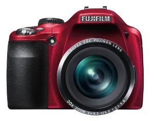 matte red fujifilm finepix SL300