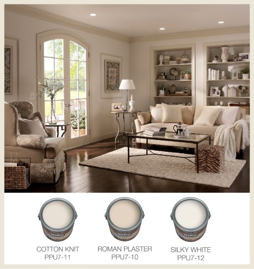 In tone-on-tone rooms, the slightly darker neutral trim defines the boundaries of this space while still maintaining an open, spacious feeling.