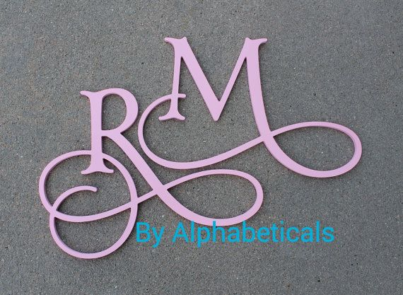 Decorative Wall Letters Wall Decor Wooden by Alphabeticals on Etsy