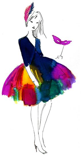 makes me want to do some watercolor - by Miss Capricho