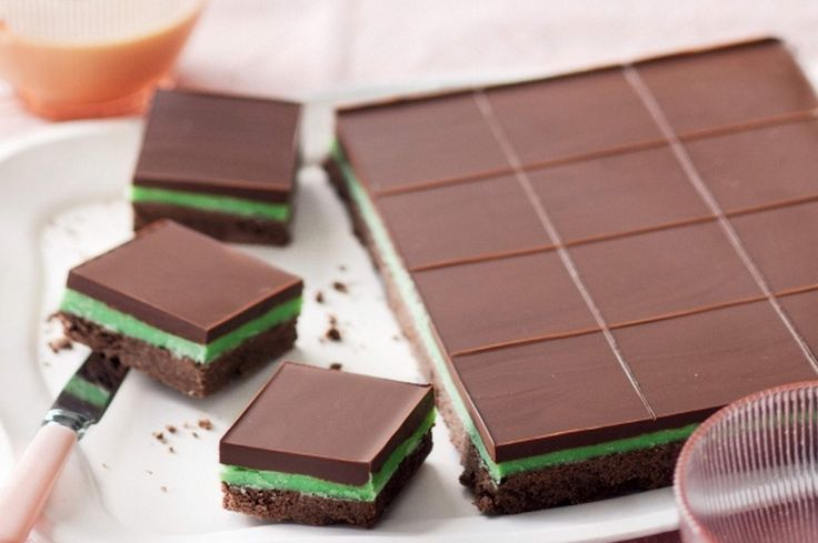 Choc Mint lovers won't be able to wait to make this delicious slice that tastes every bit as good as it looks.  This is quick and easy and will fly off the plate!