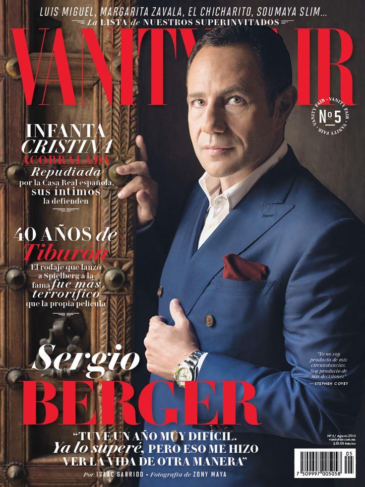 Agosto - Sergio Berger en portada. ¡No te la pierdas!